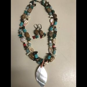 Jewelry - Sterling Necklace/Earring Set